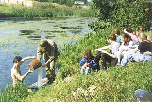 Field Ecology lesson - Aquatic Ecology