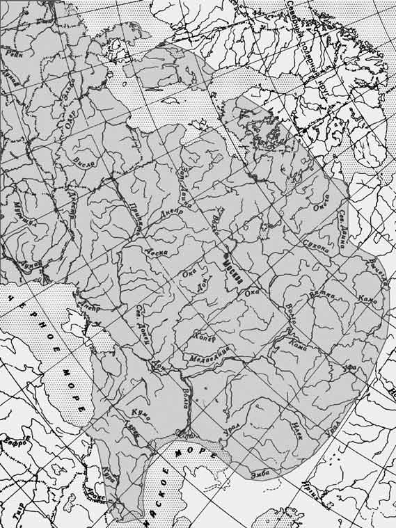 bjoerkna: карта ареала